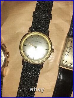 4 montres anciennes LIP BELVILGIRARD PERREGAUX BUCHERER