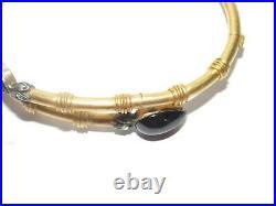 ANCIEN BRACELET JONC FEMME XIXe 13,44 grammes OR 18 K CARATS 750 + DIAMANTS