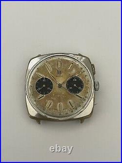 ANCIEN chronographe LIP GENEVE CALIBRE VALJOUX 7730 RCH830 CAL. V7730 LIP PANDA