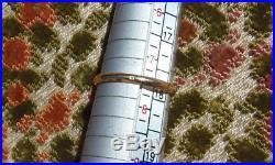 ANCIENNE BAGUE TOURBILLON DEUX OR 18Cts ET DIAMANTS central de 0,20 CARAT