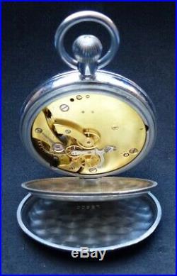 AURICOSTE MARINE NATIONALE Révisée Ancienne Montre de BORD Chronomètre