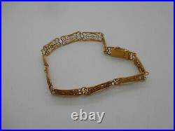 Ancien Bracelet en or 18 carats