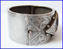 Ancien Bracelet reliquaire reliquary bracelet 19e siècle
