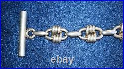 Ancien et très rare bracelet HERMES en argent massif (925/°°)