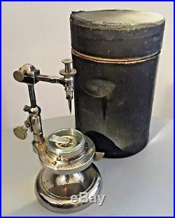 Ancien outil dhorloger signé Edouard Luthy-Hirt Bienne dans sa boite serie 8088