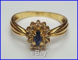 Ancienne Bague Pompadour Or 18 Carats Taille 52 Antique Gold Ring 18K Size 6