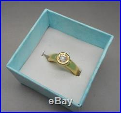 Ancienne Bague en Or 18 carats sertie