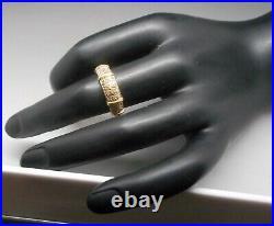 Ancienne Bague en or 18 carats sertie de diamants
