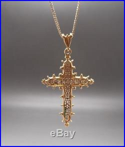 Ancienne Croix d'Estaing en or 18 carats