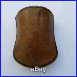 Ancienne Jolie Paire de Boucles D'oreille en Plaqué Or + Ecrin