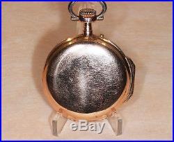 Ancienne Montre Gousset en Or 18 carats