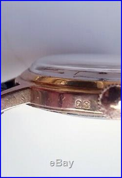 Ancienne Montre Homme Zenith de 1964 calibre 106.50.6