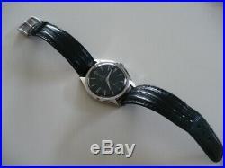 Ancienne Montre Mécanique Yema Extra Plate, Sous Marine, Chronographe