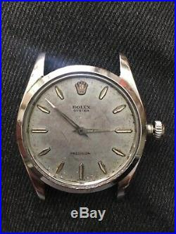Ancienne Montre Rolex Oyster Precision Ref 6424 Fonctionne Tres Bien Rolex