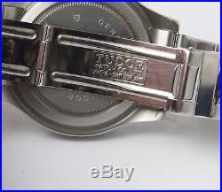 Ancienne Montre Tudor Hydronaut Cadran Carbone Automatique Rolex Full Set