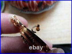 Ancienne broche en or 18 carats poinçon tète d aigle