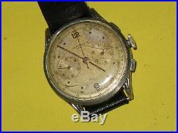 Ancienne montre Chronographe à remontage manuel BAUME & MERCIER
