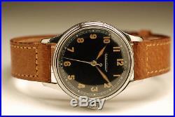 Ancienne montre JAEGER LECOULTRE NEUVE de STOCK ACIER cal 478 Vintage watch NOS