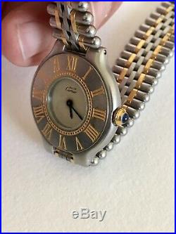 Ancienne montre Must de CARTIER Quartz Vintage
