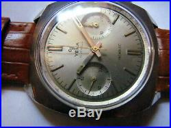 Ancienne montre chronographe yema monza valjoux 7730