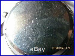 Ancienne montre chronographe yema yachtingraf valjoux 92 1er modèle