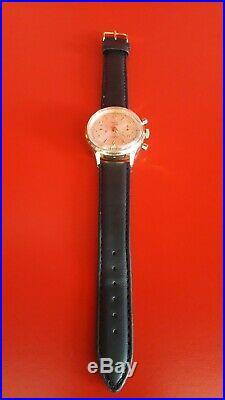 Ancienne montre homme Chronograph FISCO GENÈVE Superbe