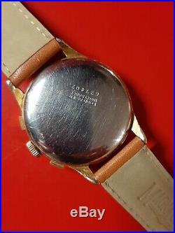Ancienne montre homme Chronograph RICAR Landeron 54 Rare et Superbe