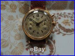 Ancienne montre mecanique chronographe L 51 BESSA, Suisse, vintage