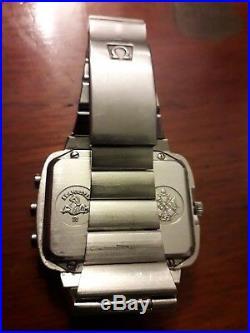 Ancienne montre omega seasmaster chrono-quartz