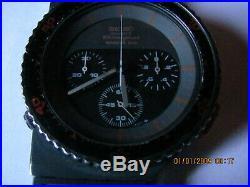 Ancienne montre seiko 7a28-6000 giugaro speedmaster