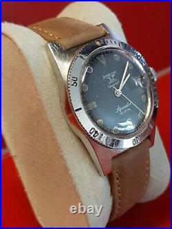 Ancienne montres homme aquastar Jean Richard 1960s 1701 vintage diver