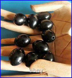 Antique Amber Oil Bakelite Faturan Prayer Beads Ottoman Lot De Perles Anciennes