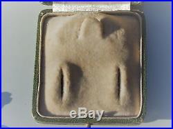 BELLE 1/2 PARURE ANCIENNE XIXème NAP III en OR JAUNE 18K 750 / B. O + BROCHE