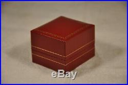 Bague Ancien Or Massif 18k Email Antique Solid Gold Ring 6,9gr