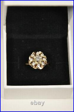Bague Ancienne Or Massif 18k Antique Solid Gold Ring