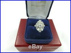 Bague Ancienne diamants taille ancienne