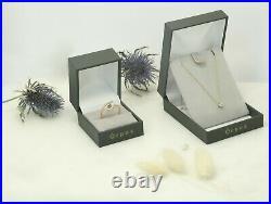 Bague ancienne aigue-marine or blanc diamant ring white gold diamond aquamarine