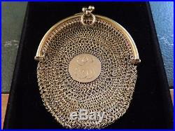Bourse ancienne en or 18 carats