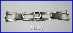Bracelet Montre Ancienne Vintage Watch Diver Plongée Acier Type ZRC Grand Fond
