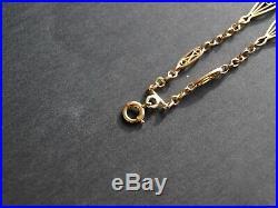 Bracelet ancien en or 18 carats années 40 Masse 11 grammes