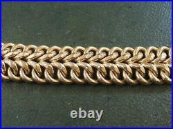 Bracelet ancien en or rose 18 carats
