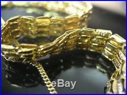 Bracelet ancien fin en or 18 carats