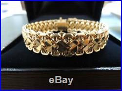 Bracelet ancien or rose 18 carats