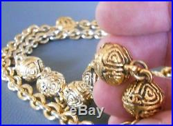 CHANEL Collier Sautoir Ancien 1985 Vintage Necklace