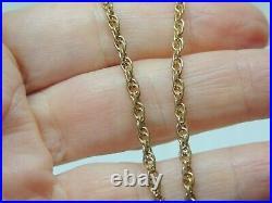 Chaîne longue ancienne or 18 carats