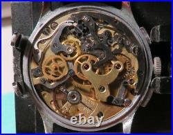 Chronographe ancien Jusma (Besançon), Venus 150, révisé