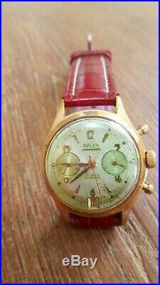 Chronographe ancien Nalpa Landeron 189
