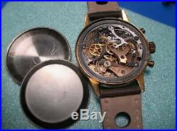 Chronographe ancien Rodana Venus 150 (roue à colonne), vintage, révisé