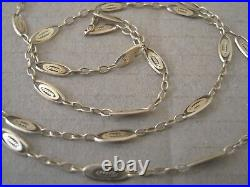 Collier chaine ancienne 56 cm en or 18 carats