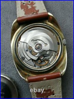 ETERNA MATIC CONCEPT 80 automatic montre ancienne vintage watch lot UFO année 70